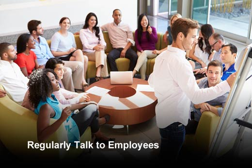 Talk to Employees